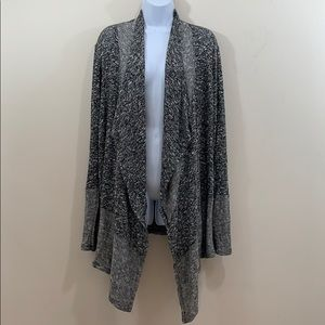 CATO Woman Long Open Front Cardigan Sweater